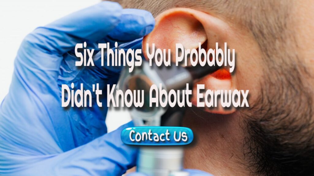 things about ear wax