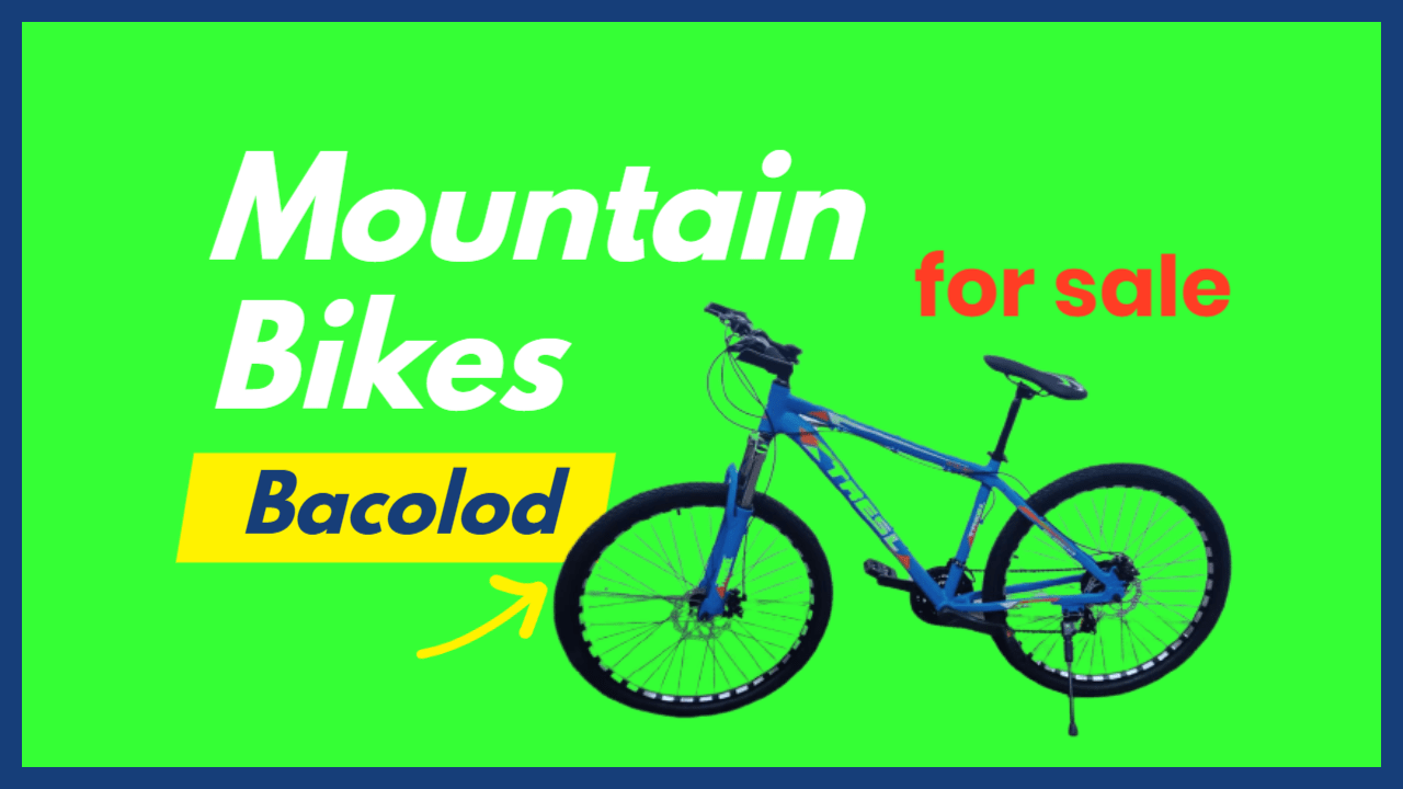 Mountain Bikes For Sale Bacolod Negros Occidental Philippines